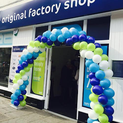 factory shop arch