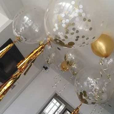 Balloon Palm Trees at Shearsby Bath
