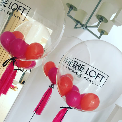 Custom Bubble Balloons