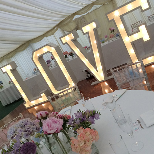 New Giant Light Letters Available to HIRE!