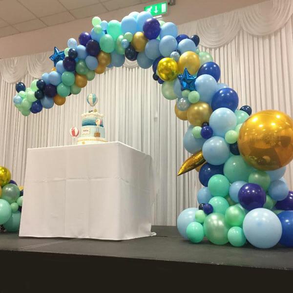 Custom Demi Balloon Arch