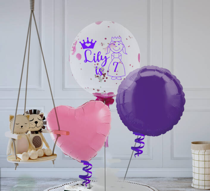 Princess Balloon Bouquet