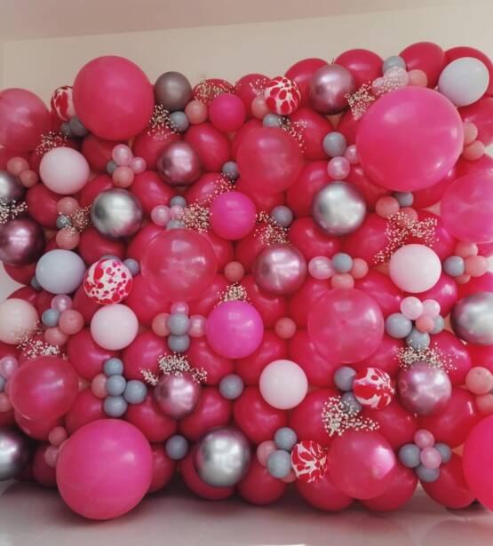 Organic Balloon Wall