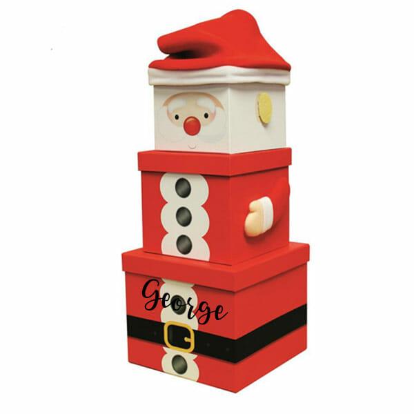 Santa Stack Boxes