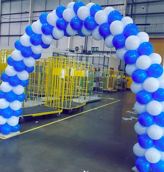amazon balloon arch