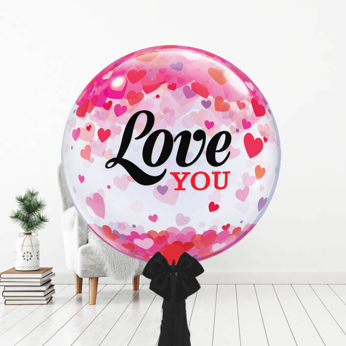 I Love You Bubble