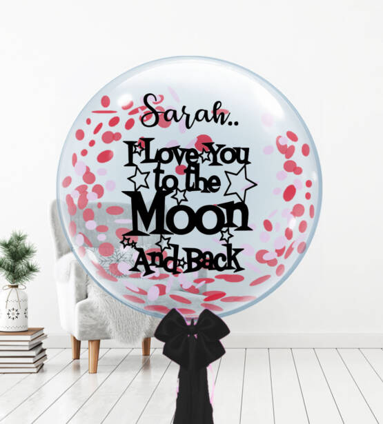 Moon & Back Bubble